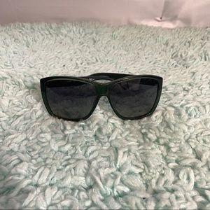 Marc Jacobs Forrest Green Square Sunglasses EUC